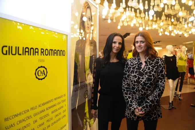 Giuliana Romano e Fabiana Delfim