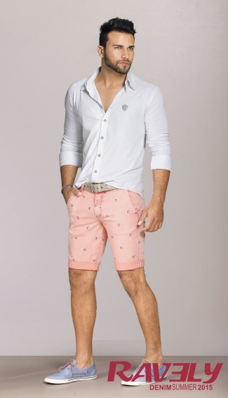 Ravely_Lookbook masculino bermuda e camisa
