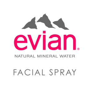 logo evian facial spray